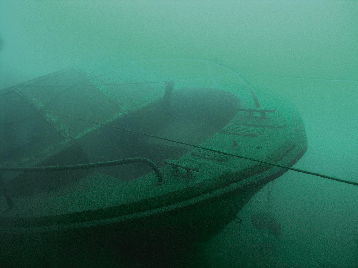 Unterwasser - Hitdorfer See